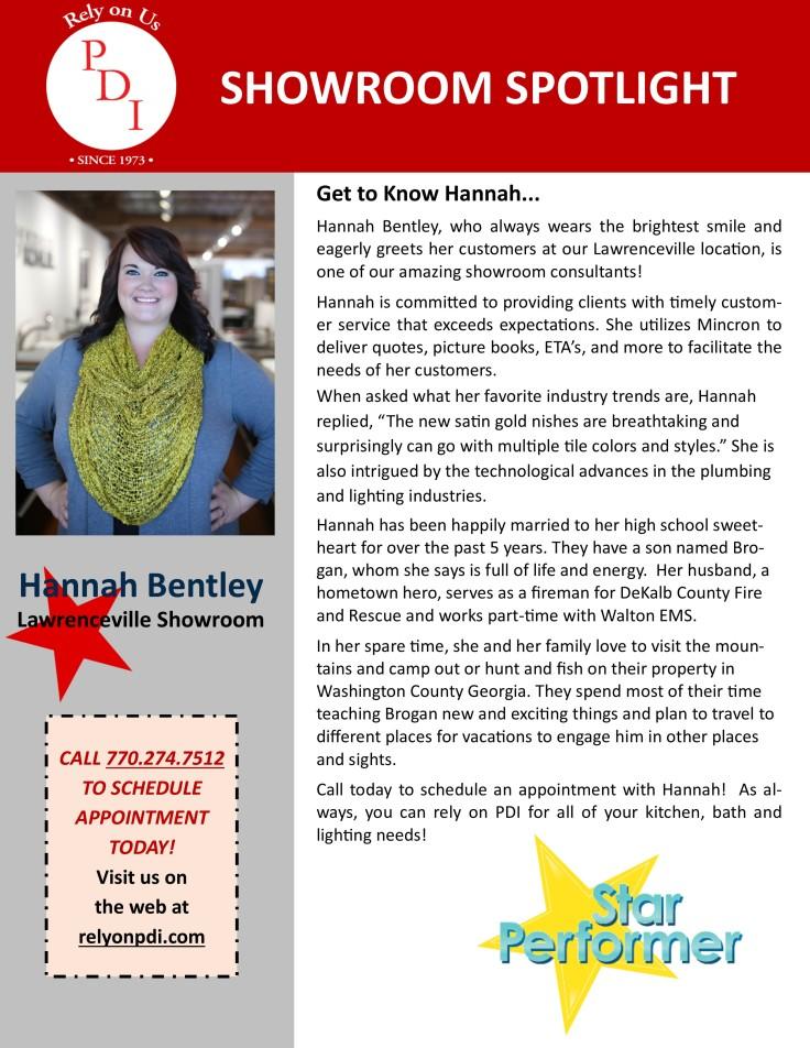 Hannah Bentley - BIO Blog